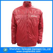 2016 vente chaude hiver rouge vestes pour hommes avec de haute qualité