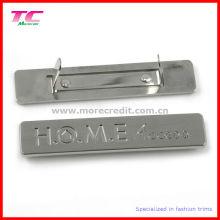 High End Metall Gravur Plaque für Tasche Zubehör