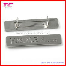 High End Metal Engraving Plaque for Bag Accessories