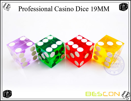 Bescon-Professional Casino Dice 19MM
