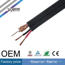 Высокая скорость СИПУ кабель rg59+2С мощность коаксиальный оптовые видео кабель rg59 видеонаблюдения кабель питания лучшей цене