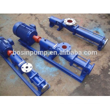 Different viscosity single screw transfer pump slurry horizontal pump