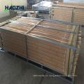 panel decorativo de la cerca del panel de aluminio que hace la fabricación forjado