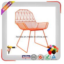 Reciclagem de spray eletrostático Ral Painel de cores Cadeiras de pátio Revestimento em pó
