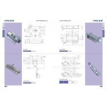 Caja de herramientas para contenedores de puerta de aluminio