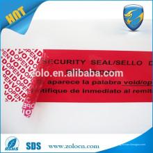 Etiqueta anti-falsificación de etiquetas anti-falsificación