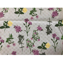 Circle And Digital Printing Cotton Embroider Fabric
