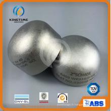 Raccords de tuyau de soudure bout à bout en acier inoxydable 304 / 304L Ss Cap (KT0323)