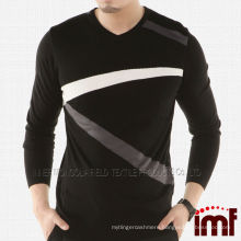 Fashion Pullover Knit Cashmere Sweater For Men