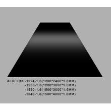 Gioss Black Aluminum Sheet Plate 1.6mmThick 5052 H32 1200*3600mm