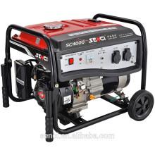 7.5 HP 3.8KW / 3.3KW SC4000-I 60HZ / 50HZ Erdgas-Generator