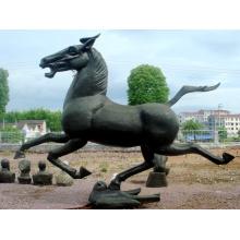 Stainless Steel Sculpture Horse Art Sculpture For Garden/Outdoor