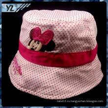 Горячая продажа ведро шляпа печати для ребенка с большой ценой
