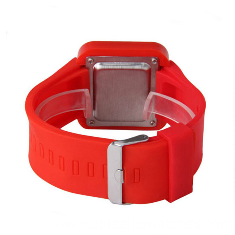 digital silicone led watch