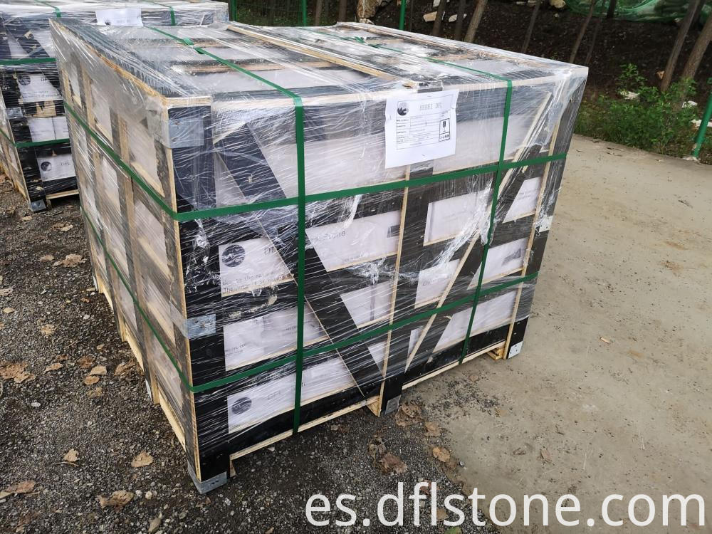 Cement Backside Stone Packing