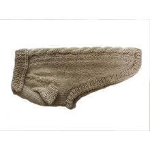 Hand gestrickte Winterhunde Mantel Pullover Puppy Kleidung Kleidung