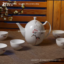 900ml Kleines Muster Fine Bone China Chinesisch Gongfu Tee Set, Tee Set Hersteller China