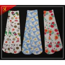 New Design Men′s Floral Print Sock