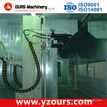 Professional Paint Spray Line with Customized Painting Booth