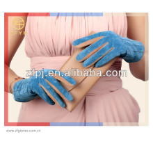Fashion Cheap Lady Pig leather Suede glove