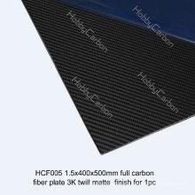 Heiße Verkäufe Kohlenstofffaserblatt CNC, das Produkte für Drohne / UAV / Industrie schneidet