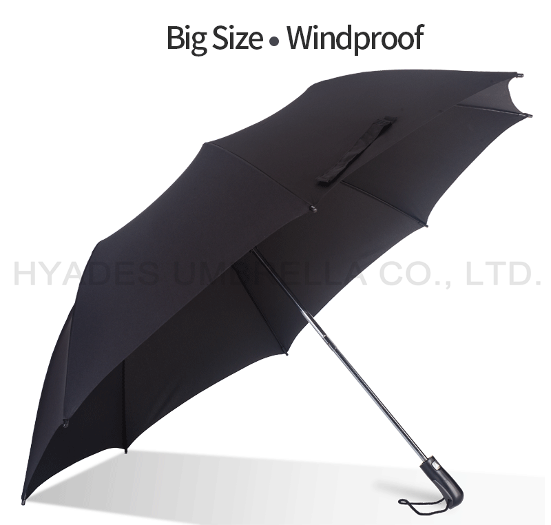 mens umbrella black