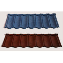Anti-Earthquake Stone chip coated steel/metal roof tile with colourful,cheaper price