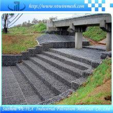 Malla de alambre revestida de Gabin del PVC para la construcción y la decoración