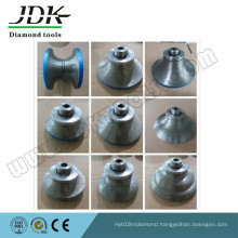 Diamond Router Bits for Profiling Different Stone Edges
