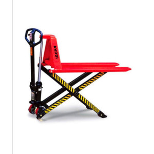 Manual Lift Scissor Truck Manual atau Semi-Electric