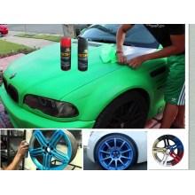 Car Peelable Peinture en caoutchouc, Peinture en caoutchouc débrochable / amovible Aérosol Spray