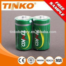 Carbon Zinc Battery R20p with good performance