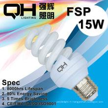 Energy Saving Lamp/CFL lampe 15W 2700K / 6500K E27/B22