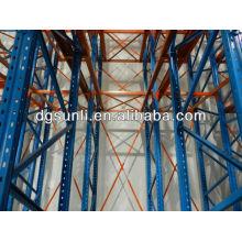 Custom metal storage wire shelving rack