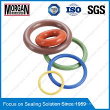 ISO / DIN / JIS / As568 / GB NBR / HNBR / FKM / EPDM / Anel de Borracha de Silicone O
