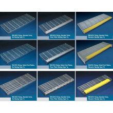 galvanized metal stair tread. galvanized steel grating stair tread,galvanised staircase