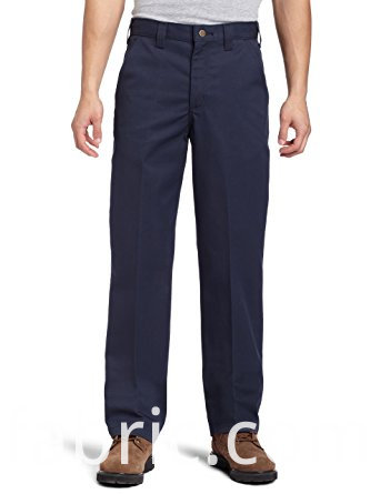 510men S Blended Twill Work Navy Blended Pants