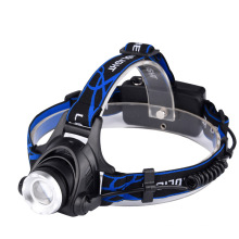 Telescopic Adjustable LED Head Light With Safety Light