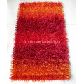 Viscose Polyester Shaggy avec Design Carpet