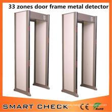 33 Zones Metal Detector Gate Full Body Scanner Walk Through Metal Detector