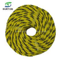 PE/HDPE/Nylon/Polyethylene/Plastic/Fishing/Marine/Mooring/Twist/Twisted Tiger Rope for Southeast Asia