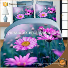 luxury style bedding set 80gsm polyester mircofiber duvet cover bed sheet pillowcases
