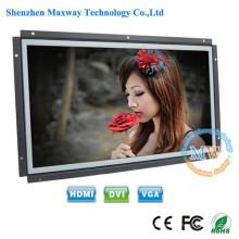 16:10 resolução 1680X1050 open frame monitor LCD de 15,4 polegadas com HDMI VGA DVI