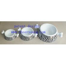 Porcelain Pet Bowl (CY-D1007) Inventory Clearance