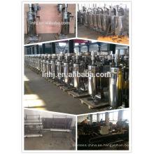 Fast Rotate VFD controlado Extracto de aceite de coco Máquina de proceso en frío