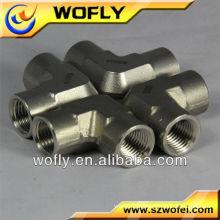 Encaixes de tubulação de bronze do cotovelo do aço inoxidável de 90 graus