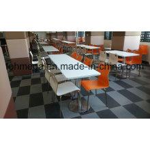 Mesa de jantar e cadeira da praça da alimentação do centro comercial (FOH-RTC07)