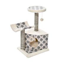 Multifunction Corrugated Cardboard Scratcher Toy Cat Tree Climbing Toy Cat Tree Design