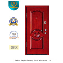 Simplestyle Security Steel Door with Carving (L2-1006)