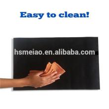 Легко чистить тефлоновый материал